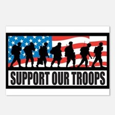 Support our troops - Infantry Postcards (Package o