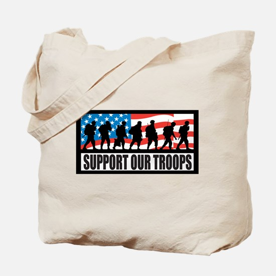 Support our troops - Infantry Tote Bag