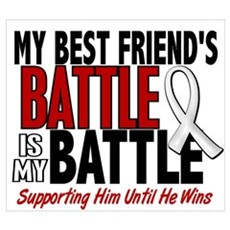 My Battle Too 1 PEARL WHITE (Best Friend Male) Fra Poster