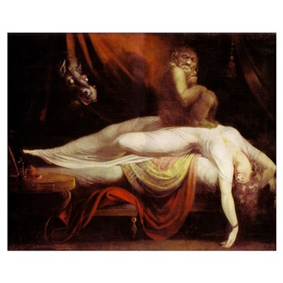 Fuseli - The Nightmare 16x20 Framed Print