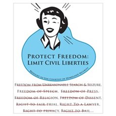 Protect Freedom (Small) Poster