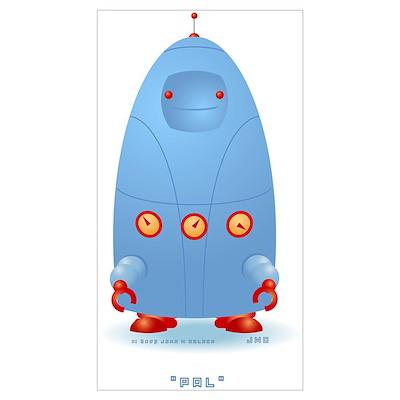 Pal Roundbot Poster