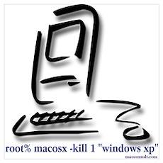 """Kill Windows"" Poster"
