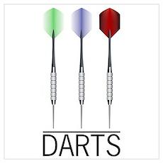 3 Darts Poster