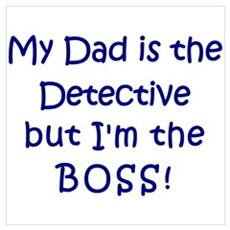 Detective Boss Poster