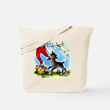 Funny Clothesline Goat Tote Bag