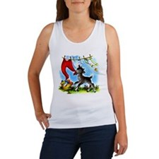 Funny Clothesline Goat Women's Tank Top