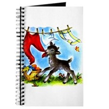 Funny Clothesline Goat Journal