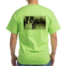 New Year - Golden Elegance - Boston Terrier T-Shirt