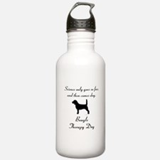 Beagle Therapy Dog Water Bottle