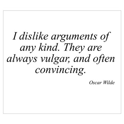 Oscar Wilde quote 6 Poster