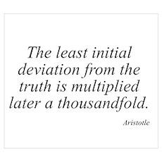 Aristotle quote 82 Poster