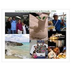 Justyn's Cruise to Bermuda Poster