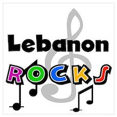Lebanon Rocks Poster
