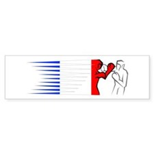 Boxing - France Bumper Sticker