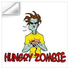 Hungry Zombie Wall Decal