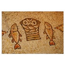 Five Loaves and Two Fish Mosaic