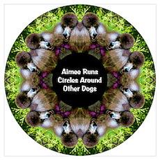 Aimee Runs Circles Poster