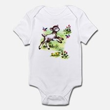 Cute Baby Lamb Sheep Infant Bodysuit