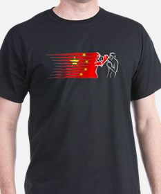 boxing - China T-Shirt