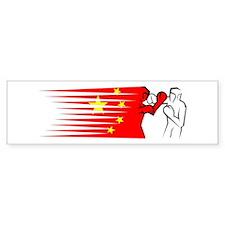 boxing - China Bumper Sticker