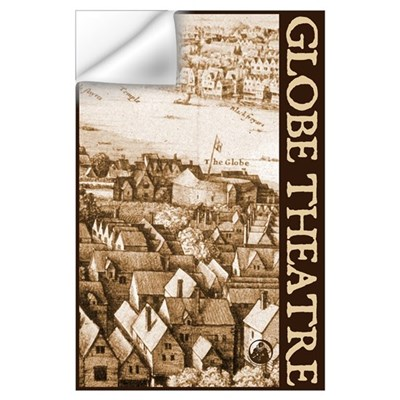 The Globe Theatre Wall Decal