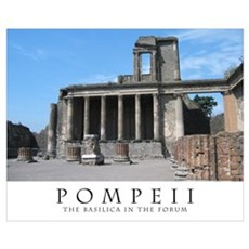 Pompeiian Basilica II Poster