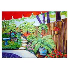 Artists Garden Poster