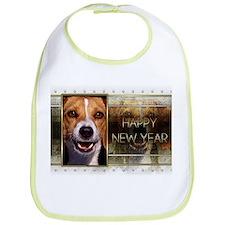 New Year - Golden Elegance - Beagle Bib