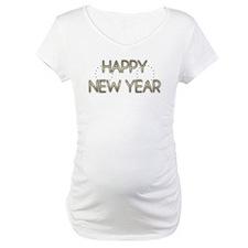 New Year - Golden Elegance - Beagle Shirt