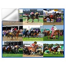 Horse Racing Wall Decal
