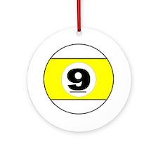 NINE BALL Ornament (Round)