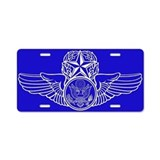 Enlisted aircrew License Plates