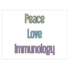 Immunologist Gift Poster