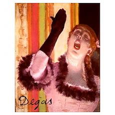 Degas' Cafe Concert Poster