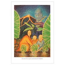 Hawaiian Taro Legend by Ralph Perrine
