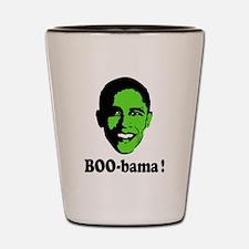 Halloween Boo Obama Shot Glass