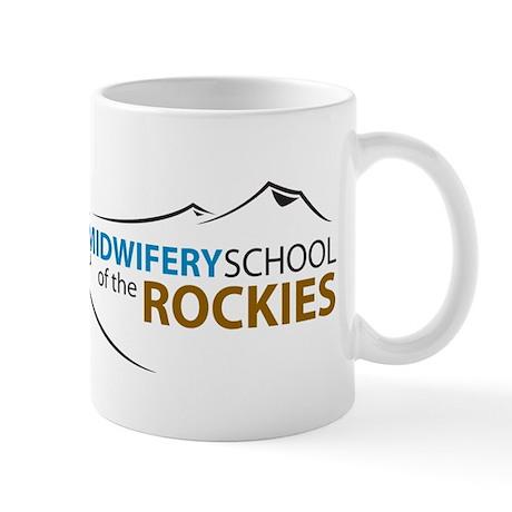 Midwifery School logo Mugs