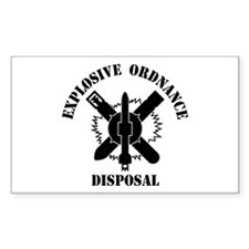 EOD logo Decal
