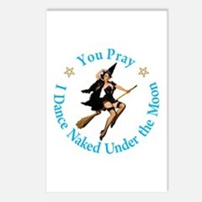 Dance Naked Under the Moo Postcards (Package of 8)