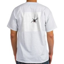 IIB Back SPIDER Ash Grey T-Shirt