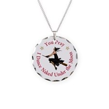 Dance Naked Under the Moon Necklace