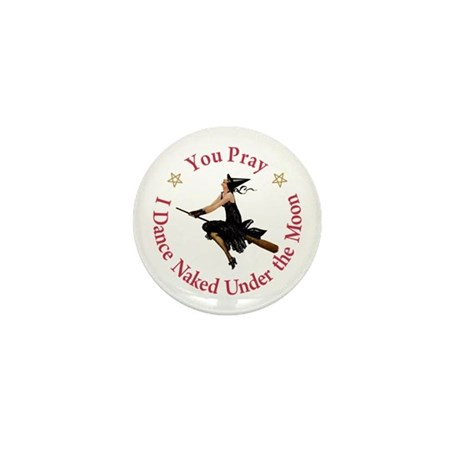Dance Naked Under the Moon Mini Button (100 pack)