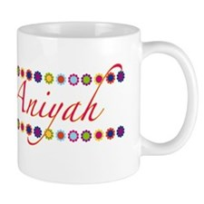 Aniyah with Flowers Mug