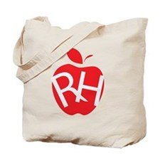 Funny Apple logo Tote Bag