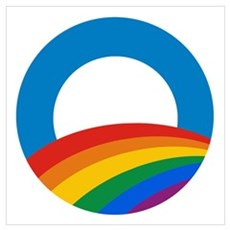 Obama Pride Canvas Art