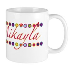 Mikayla with Flowers Mug
