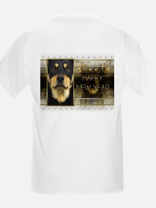 New Year - Golden Elegance - Kelpie T-Shirt