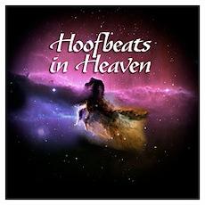 Hoofbeats In Heaven Poster