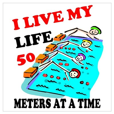 Fifty Meters At a Time Poster